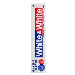 Lion White & White : Зубная паста с кальцием и фтором с двойным отбеливающим эффектом. 150 гр.
